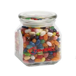 Jelly Belly Candy in Med Glass Jar
