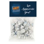 Custom Hershey kisses in Large Header Pack