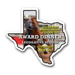 Custom Texas State Magnet