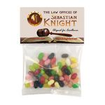 Custom Jelly Belly Candy in Sm Header Pack
