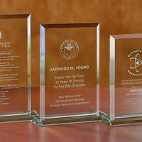 Beveled Rectangle - Medium Award