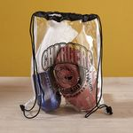 Custom Clear Vinyl Drawstring Bag