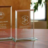 Beveled Rectangle - Small Award