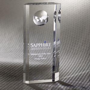 Nazione Pillar Globe Optically Perfect Award