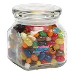Custom Jelly Belly Candy in Sm Glass Jar