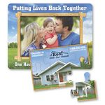 Custom Puzzle Picture Frame Magnet