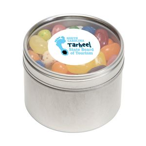 Jelly Belly Candy in Sm Round Window Tin