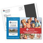 Custom Perf 5-1/4 x 8-1/2 Direct Mail Magnet Postcard