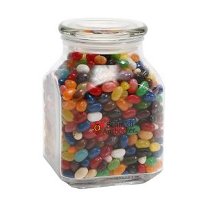 Jelly Belly Candy in Lg Glass Jar