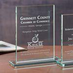 Custom Glass Rectangle - Large Award