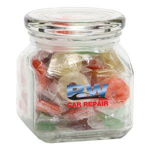 Life Savers in Sm Glass Jar