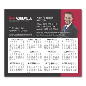 Calendar Sq Crnr Magnet 3-13/32 x 3-29/32