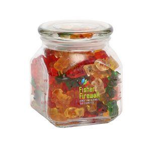 Gummy Bears in Med Glass Jar