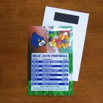 Custom Mini Bag Jelly Belly Candy on Stick Up Card