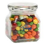 Custom Skittles in Sm Glass Jar