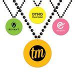 Custom Neon Medallion Beads