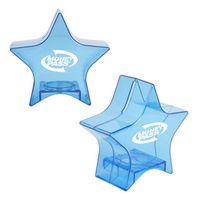 Translucent Blue Star Bank
