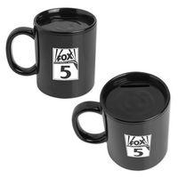 Black Coffee Mug Bank
