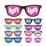 Custom Iconic Sunglasses w/ Pinhole Printed Lens