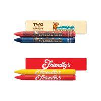 2 Pack Custom Crayons Box