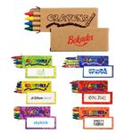 Custom 4 Pack Crayons