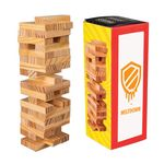 Custom Mini Wooden Tower Game