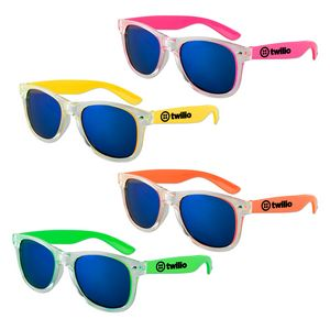 81960e566c0 Clear Color Iconic Sunglasses (Assorted Colors) - S70446X - IdeaStage  Promotional Products