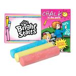 Custom 3 Pack Jumbo Sidewalk Chalk