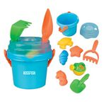 Custom Mini Sand Pail with Toys and Lid