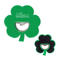 Shamrock Coaster Bottle Opener