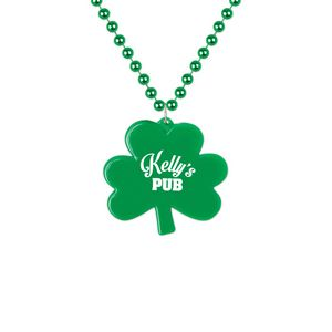 Custom Imprinted St. Patrick's Day Necklaces!