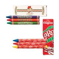 3 Pack Custom Crayons Box