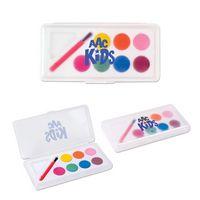 Watercolor Paint Set w/ 7 Colors