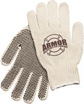 Custom The Rancher Knit Gloves w. Grip Dots, Natural