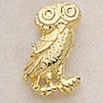 Custom Owl Marken Design Cast Lapel Pin (Up To 5/8