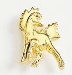 Custom Prancing Horse Marken Design Cast Lapel Pin (Up to 7/8