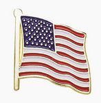 Custom American Flag Lapel Pin