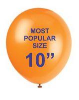 "10"" Screen Printed Balloon"