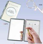Custom Chrome Cover Telephone & Address Book W/ Mirror (Screened)