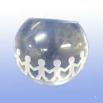 Custom Harmony Globe W/Gift Box