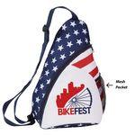 Custom Patriotic Sling Backpack