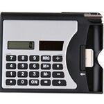 Custom Card Holder & Calculator w/Pen