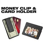 Custom 2 In 1 Money Clip And ID Holder