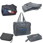 Custom Handy Fold and Pack Travel Bag (Screen)