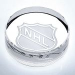 Custom Optical Crystal Hockey Puck