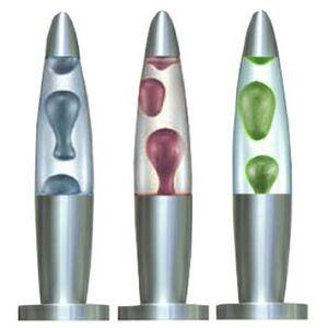 Custom Imprinted Metallic Pearlized Lava Lamps