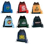 Sportive Drawstring Duffle Bag