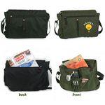 Custom Lightweight Nylon Messenger Bag