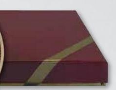 Burgundy Kraft Box w/ Jewelers Cotton (3.25x3.25)