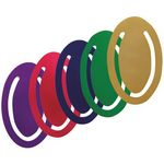 Anodized Aluminum Oval Bookmark Clip (2